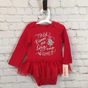 Cat & Jack Target Baby One-Piece Outfit with Skirt